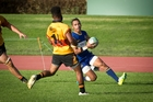 Tauranga Sports winger Phillip Togotogorua touches down in last week's win over Te Puke Sports.