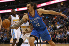 Steven Adams is proving to be an unstoppable force in the NBA. Photo / Getty