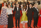 Ruby Barnhill with other A-listers at the screening of the film The BFG at the 69th international film festival, Cannes. Photo / Getty Images