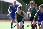 Maungakaramea's Jane Thompson on the charge against WGHS during Saturday's 2-2 draw. Photo / Michael Cunningham