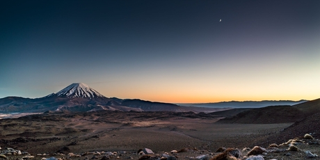 Dawn over Ngauruhoe.