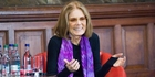 American feminist, journalist and activist Gloria Steinem thrilled her audience. Photo / Rex Features
