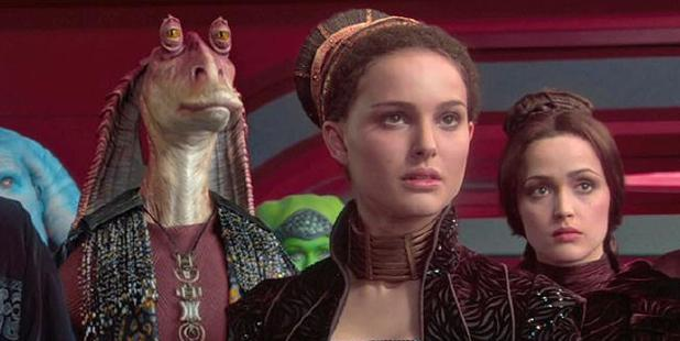 Natalie Portman and Rose Byrne in Star Wars: Episode II - Attack of the Clones. Photo / Supplied
