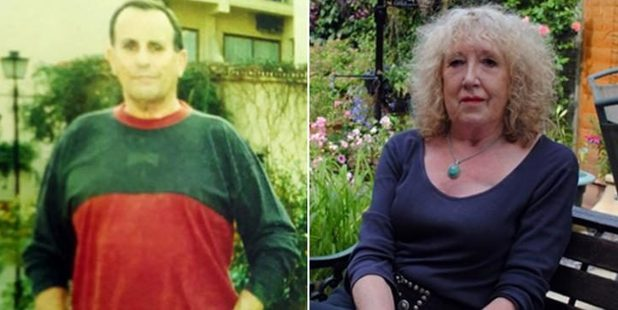 John Sabine and his wife Leigh Anne Sabine, who is accused of killing him and hiding his body in a shed.