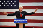 Bill Clinton will have a focus on the economy if his wife Hillary Clinton is elected US president. Photo / AP