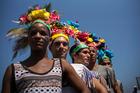 Members of Cuba's LGBT community take part in a gay pride parade in Havana, Cuba. Photo / AP
