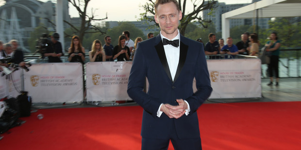 Mr Smooth: Actor Tom Hiddleston poses for photographers upon arrival at the British Academy Television Awards' in London this month. Photo / AP