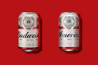 Budweiser cans have been repackaged as 'America' during the northern summer. Photo / AP