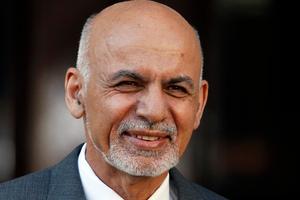 Afghanistan President Ashraf Ghani. Photo / AP