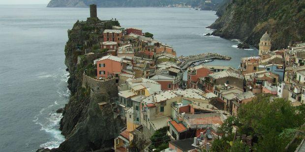 The Amalfi coast.