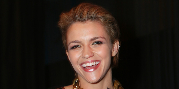 Australian actress Ruby Rose. Photo / Norrie Montgomery