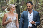 Erin Higgins with Jordan Mauger during an episode of The Bachelor.