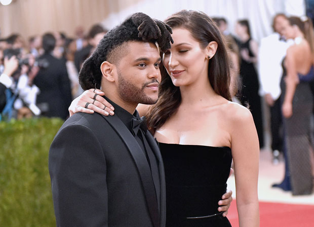 Bella and her beau, Abel Tesfaye at the Met Gala. Photo / Getty