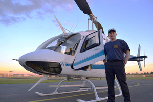 David Kerr began his career as a real estate entrepreneur and had created a successful business by the time he was 35, but he loved helicopters so got his pilot's licence. Supplied