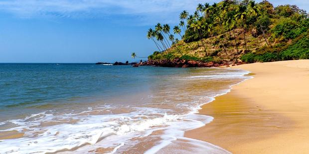 Agonda Beach is known for its simple beauty. Photo / Supplied