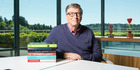 Microsoft founder and Gates Foundation co-chair Bill Gates has some book ideas for you. Photo / GatesNotes.com