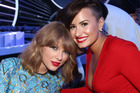 Singers Taylor Swift and Demi Lovato are no longer friends. Photo / Getty Images