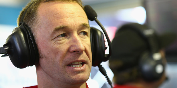 Greg Murphy during qualifying for the Sandown 500. Photo / Getty Images