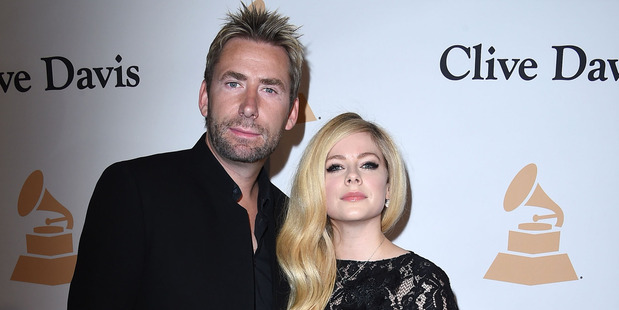Avril Lavigne and Chad Kroeger may have split, but she still wants you to leave his band alone. Photo / Getty Images