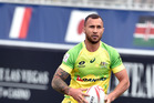 Quade Cooper in action for the Australian Sevens side in Las Vegas earlier this year. Photo / Getty Images