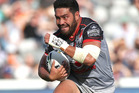 Konrad Hurrell in action during the round five NRL match against the Sydney Roosters. Photo / Getty Images