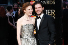 Rose Leslie and Kit Harington. Photo / Getty Images