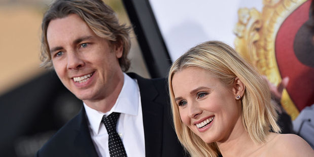 Actors Dax Shepard and Kristen Bell. Photo / Getty Images