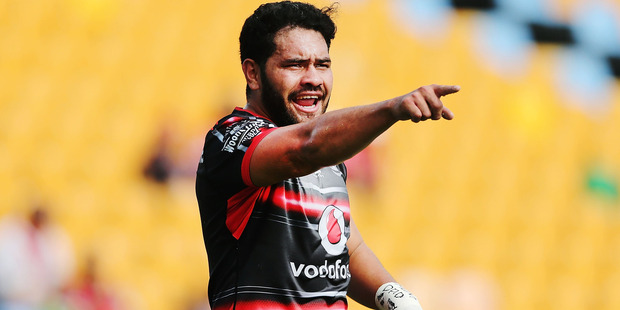 Konrad Hurrell continues to languish in reserve grade at the Warriors. Photo/Getty.