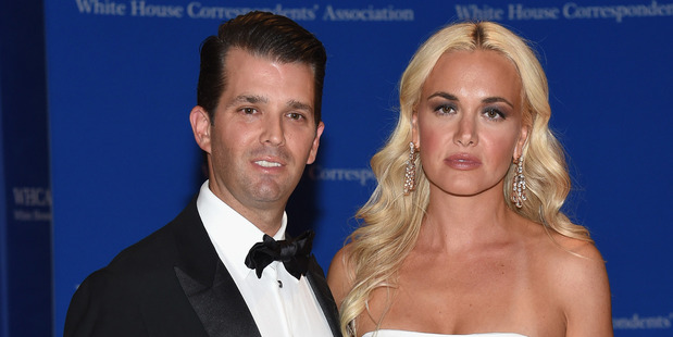 Donald Trump Jr. and wife Vanessa Trump. Photo / Getty Images