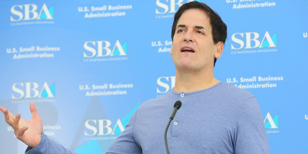 Investor/media personality Mark Cuban. Photo / Getty Images