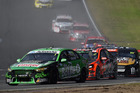 Mark Winterbottom leads the field during the V8 Supercars Perth SuperSprint. Photo / Getty Images