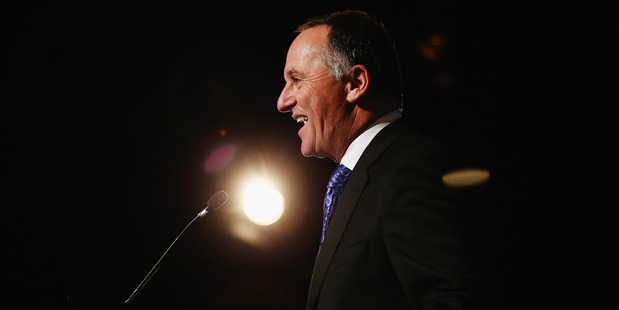 Loading John Key says there is not enough in the Government books for tax cuts but he expects that to change as the surplus builds up. Photo / Getty Images