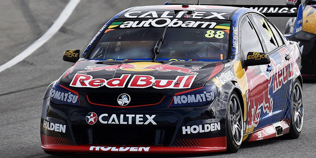 Jamie Whincup during the V8 Supercars Perth SuperSprint at Barbagallo Raceway. Photo / Getty Images