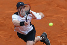 Andy Murray in action during The Internazionali BNL d'Italia 2016. Photo / Getty Images
