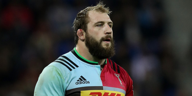 Joe Marler. Photo / Getty Images
