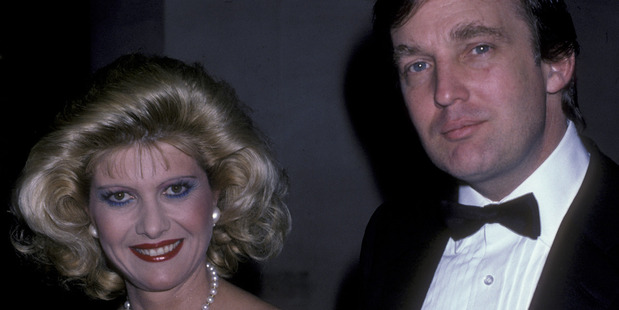 Donald Trump and Ivana Trump in 1986. Photo / Getty Images