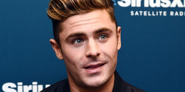 Loading 'There was a moment when my morning routine was, like, get up and Google yourself,' said actor Zac Efron. Photo / Getty Images