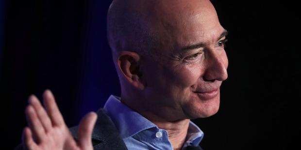 Amazon CEO Jeffrey P. Bezos. Photo / Getty Images