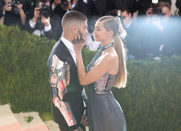 Gigi and her boyfriend, Zayn Malik, at the Met Gala. Photo / Getty