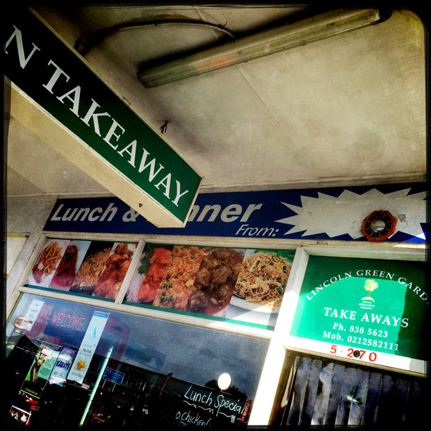 Lincoln Green Garden Takeaway is a Fijian joint run by a cheerful, happy couple. Photo / Michael Craig