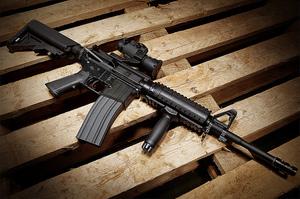 IDS M4 carbine.