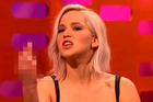 Actress Jennifer Lawrence on BBC's The Graham Norton Show.