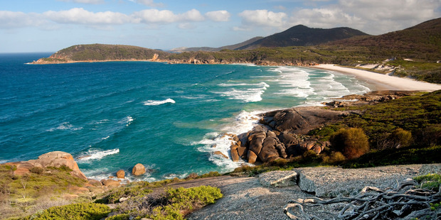 Squeaky Beach has a number of amazing walking trails nearby. Photo / Supplied