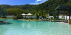 The lagoon pool on Blue Resort at Magnetic Island.