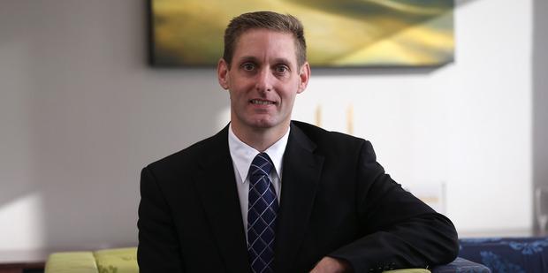 Richard Keys became Abano's chief financial officer at the age of 33. Photo / Doug Sherring