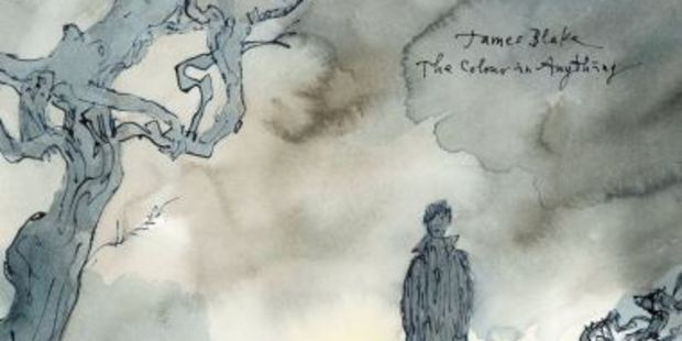 The album cover for The Colour In Anything was created by Quentin Blake
