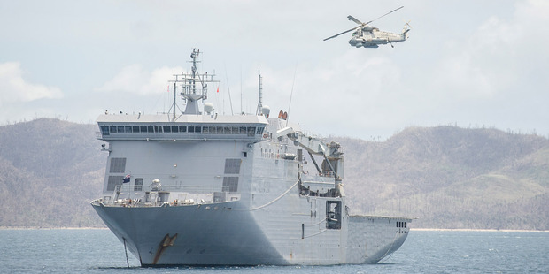 The Royal NZ Navy celebrates its 75th anniversary in November. Photo / File