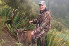 Murray Edge of Dunedin died after falling down a bluff while hunting. Photo / Supplied via Facebook
