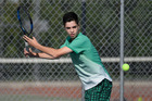 Otumoetai tennis player Caelan Potts will train at the Nick Bollettieri Tennis Academy in Florida. Photo / George Novak