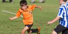 Photos: Kids football in Rotorua
